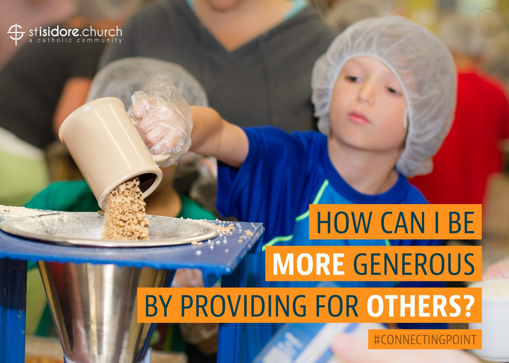 How can I be more generous by providing for others?