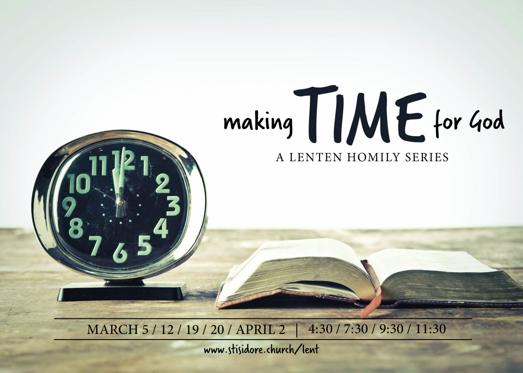 Making Time for God