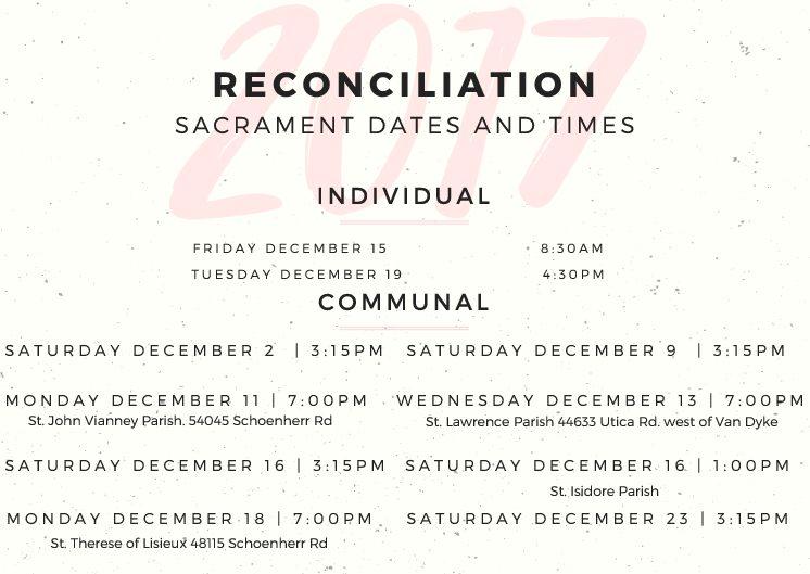 Reconciliation schedule