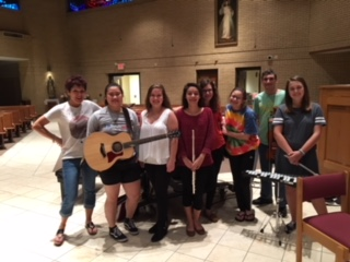 Teen Music Ministers