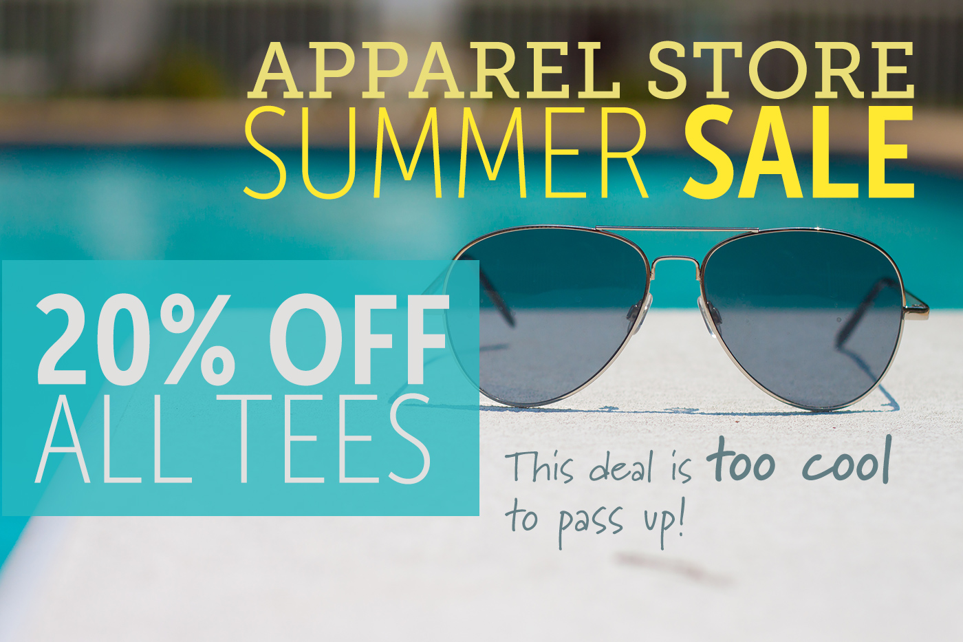 Apparel Store Summer Sale!