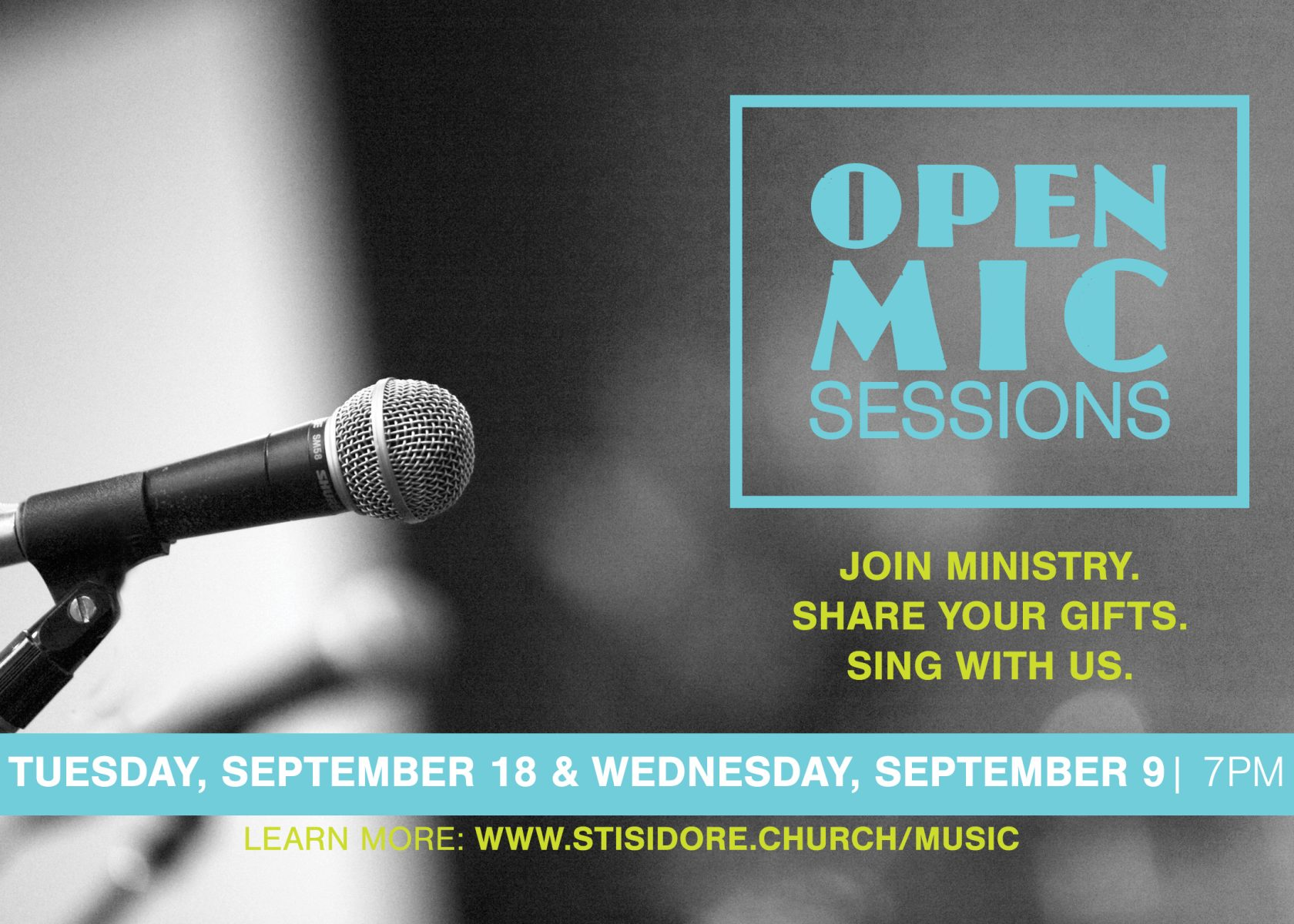 Open Mic Sessions 2018
