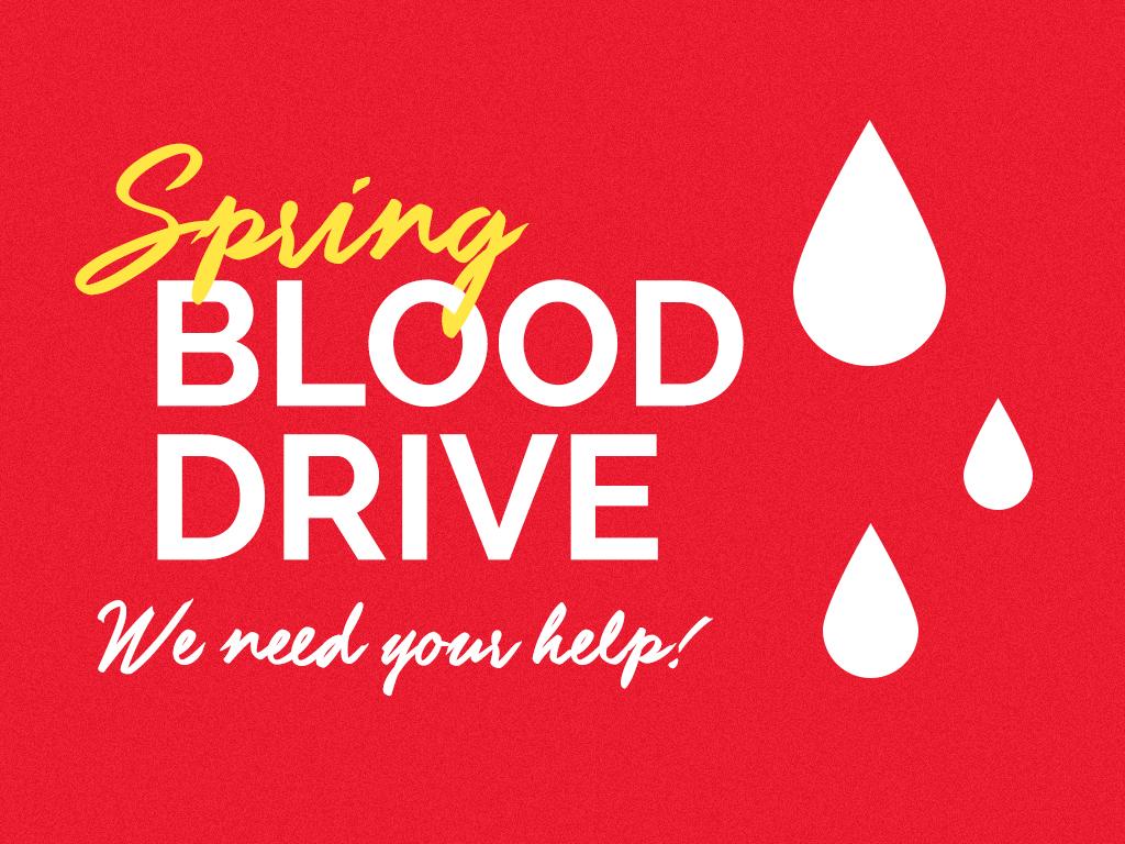 Spring Blood Drive