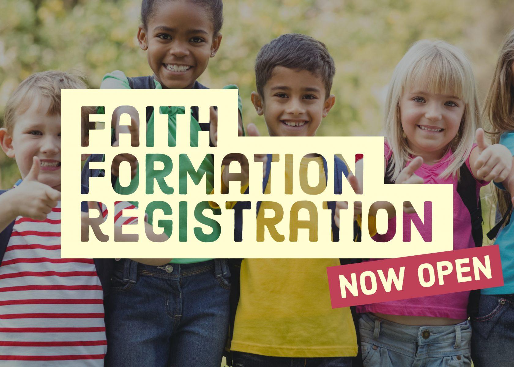 Faith Formation Registration