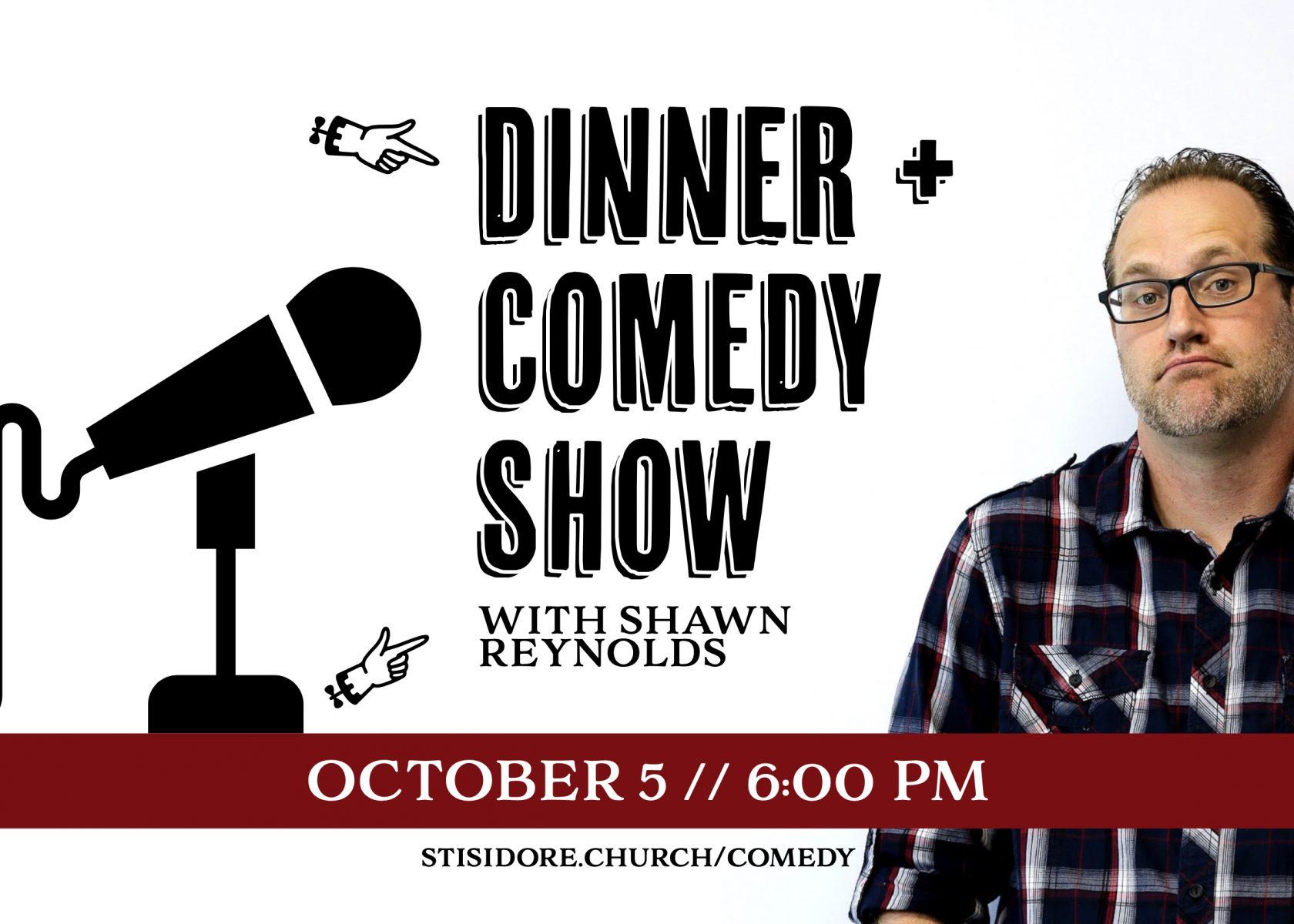 Dinner + Comedy Show