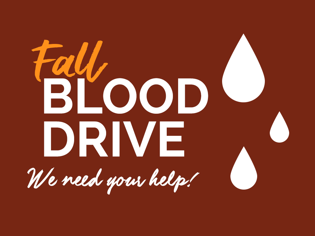 Blood Drive: Fall 2019