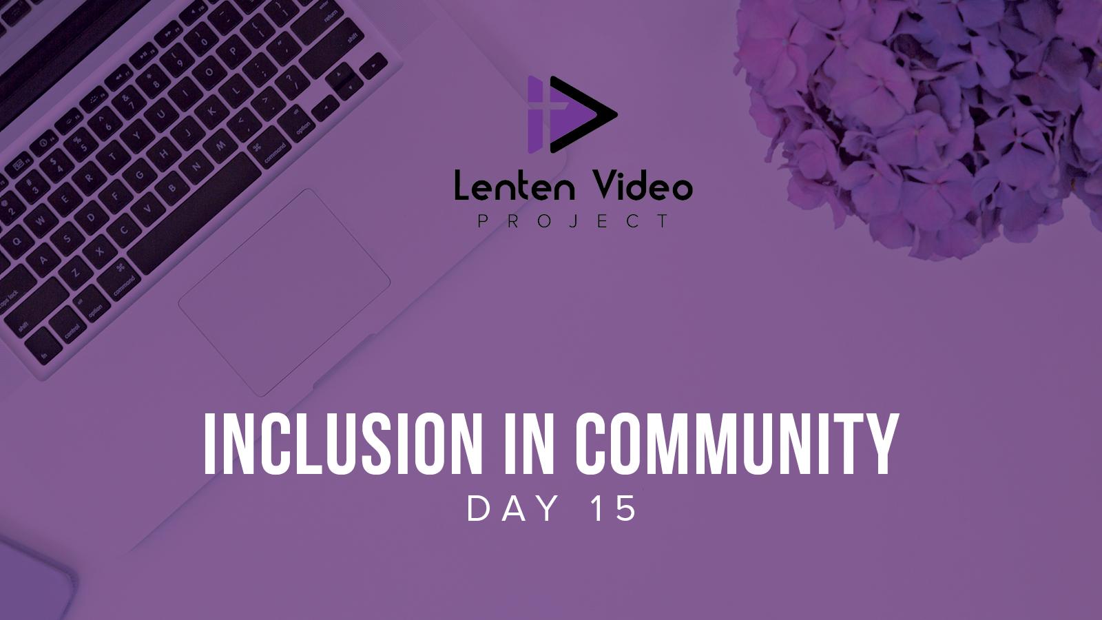 Inclusion in Community