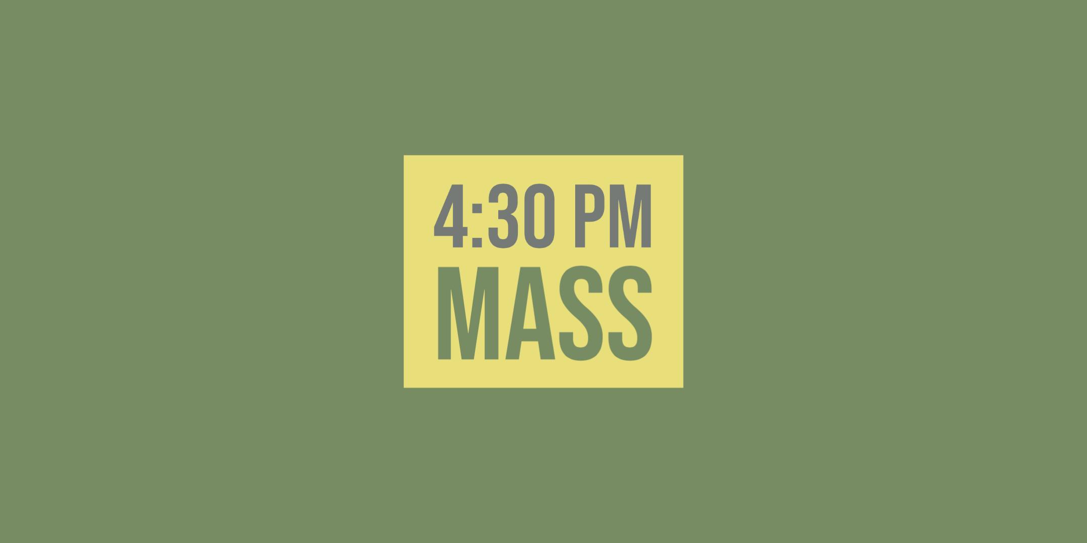 Register for 430 Mass