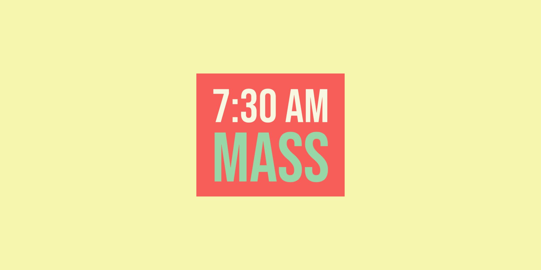 Register for 730 Mass