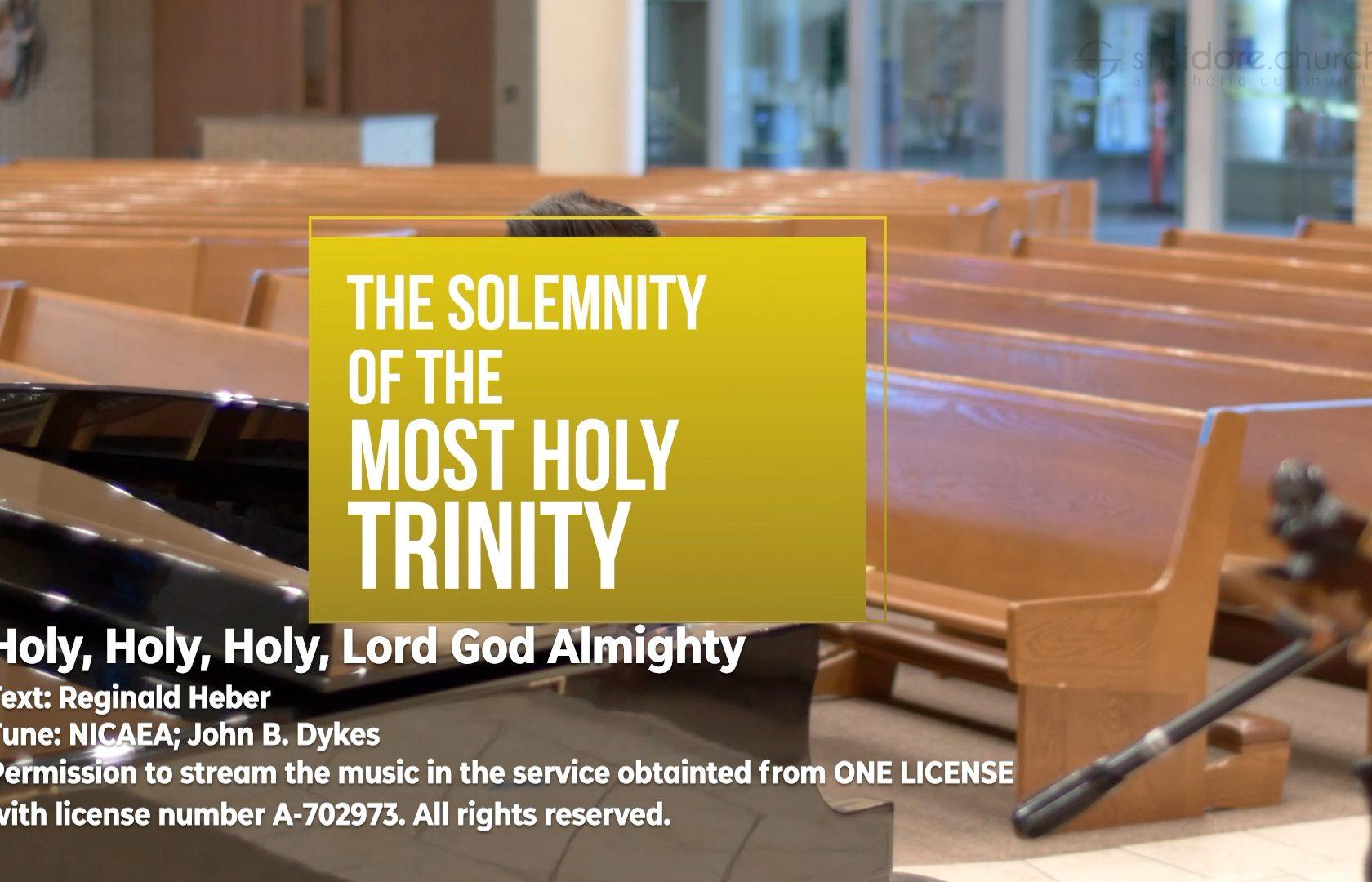 The Most Holy Trinity Sunday