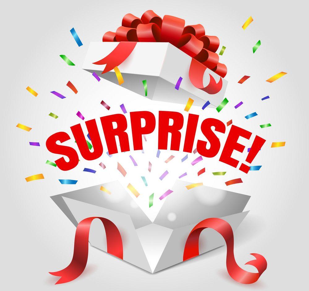 Facebook Surprise!
